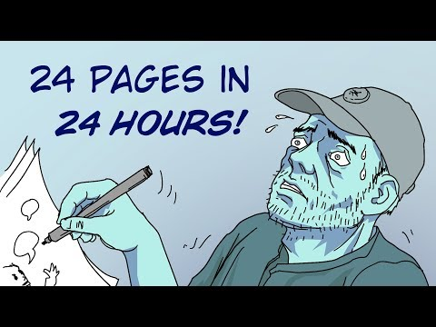 The 24 Hour Comic Challenge
