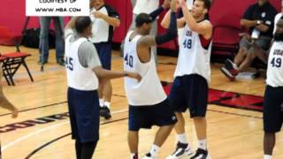 12 PLAYER TI MENS BASKETBALL ITI USA PARA TI LONDON OLYMPICS NAPILIN