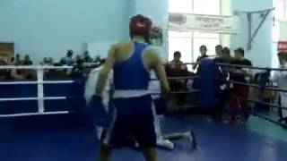 Победа нокаутом в любительском боксе