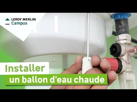 comment installer ballon d'eau chaude