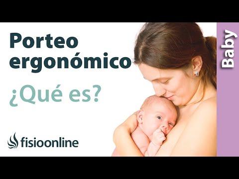 ¿Qué es el porteo ergonómico y cuáles son los beneficios para el bebé y la mamá?