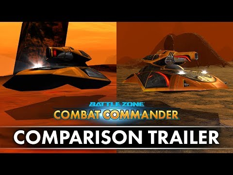 Battlezone: Combat Commander - Comparison Trailer thumbnail
