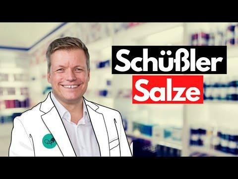 Die 12 Schüßler-Salze auf den Punkt gebracht- Arzneimittel erklärt von YouTube- Apotheker Jan Reuter