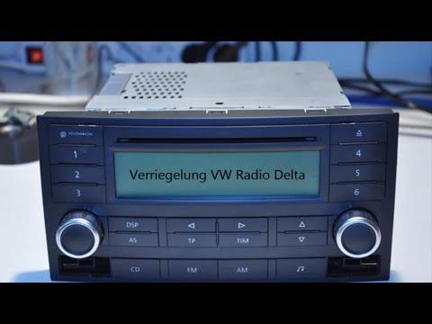 VW T5 Radio Delta ausbauen / remove