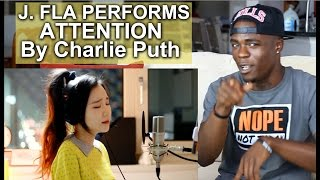 Charlie Puth - Attention ( cover by South Korean Singer J.Fla ) | Oso's Reaction