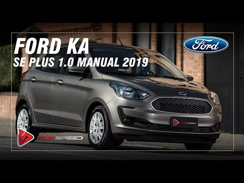 Avaliação Ford KA SE Plus 1.0 manual 2019   Top Speed