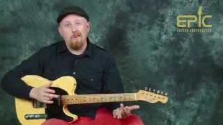 Gambar cover Guitar song lesson learn There There by Radiohead with chords strumming picking patterns