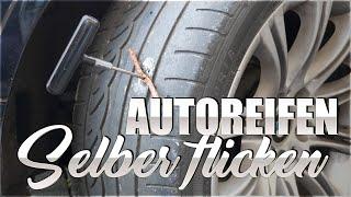 Reifen selber flicken | Auto Reifenflickset Test | 83metoo
