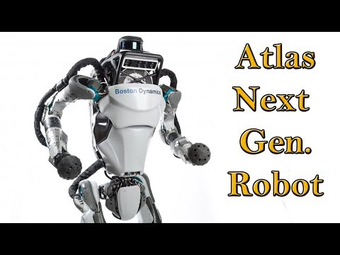 Atlas, The World's Most Dynamic Humanoid Robot