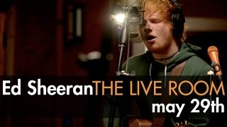 Ed Sheeran captured in The Live Room [Trailer]