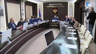 Заседание общественного совета по защите малого и среднего бизнеса