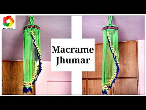 DIY Easy Macrame Jhumar | Design