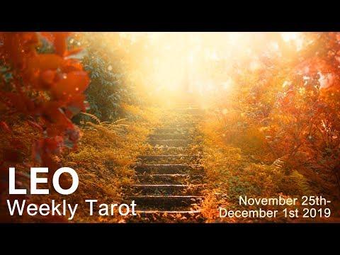"LEO WEEKLY TAROT READING  ""THE LION ROARS LEO""  Nov 25th-Dec 1st 2019"