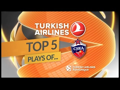 Top 5 Plays, CSKA Moscow