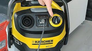 Karcher WD6 P PREMIUM Vacuum Cleaner - unbox and test