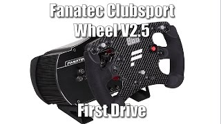 Fanatec Clubsport Wheel V2.5 - First Drive