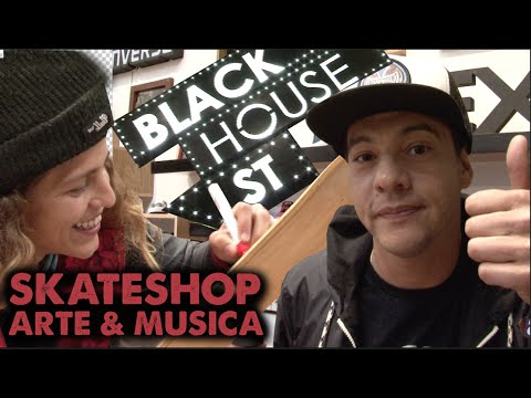 SKATESHOP BLACK HOUSE SKATE