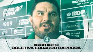 #CCRxCFC - Coletiva Eduardo Barroca