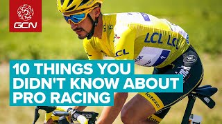 10 Things You Didn't Know About Pro Bike Racing