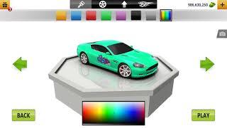 Купил машину  Aston Martin! В игре traffic racer!