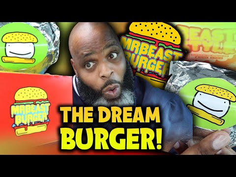 Is the NEW Dream Burger from MrBeast Burger ANY GOOD?