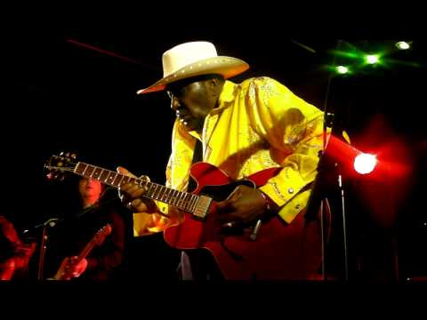 EDDY 'THE CHIEF' CLEARWATER & THE JUKE JOINTS ( USA / NL ) 26-3-2011 BLUES ALIVE IN CUIJK 4