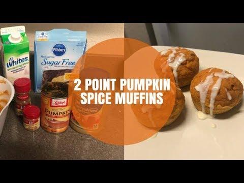 2 Point Pumpkin Spice Muffins Weight Watchers