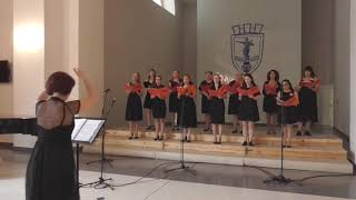 """Дамски камерен хор """"Дунавски вълни"""" - Cantilena, Karl Jenkins"""