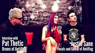 Resurrection Fest EG 2018   Interview With Anti Flag