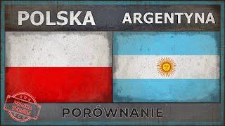 POLSKA Vs ARGENTYNA | Siły Wojskowe (2018)