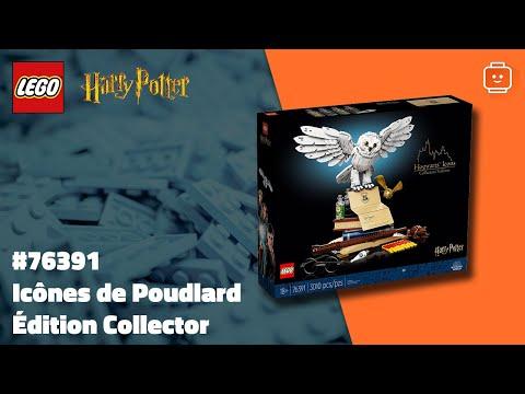 Vidéo LEGO Harry Potter 76391 : Icônes de Poudlard - Édition Collector