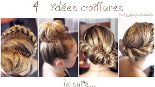 ➳ 4 Coiffures Pour Mariage, Soirée, Printemps, été | L.A Hairstyle Inspiration
