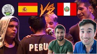 Reaccionando A ESPAÑA 🇪🇸 Vs PERÚ 🇵🇪 | God Level Fest Perú 2019 (PERÚ GANADOR ABSOLUTO)
