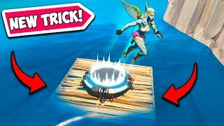 *NEW TRICK* BUILD OFF THE ISLAND!! – Fortnite Funny Fails and WTF Moments! #700