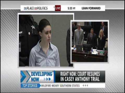 Meg Strickler on MSNBC discussing Casey Anthony on July 4, 2011 at 8:30 am