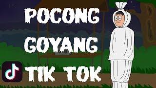 Gambar cover POCONG GOYANG TIK TOK | KARTUN HANTU LUCU | KARTUN HOROR | SURGATOON