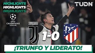 Highlights   Juventus 1 - 0 A. de Madrid   Champions League - J5 - Grupo D   TUDN
