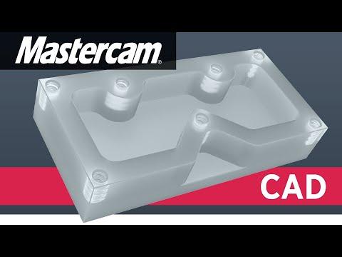 Mastercam CAD Tutorial | Designing The TITAN 1M (FREE Resources)