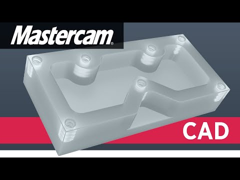 Mastercam CAD-Tutorial by Titans of CNC