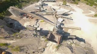 Carrière du bassin de Brive - FPV Drone