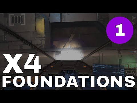 X4 Foundations S2 E01 - 1 Million Credits (ish) in 30 minutes!