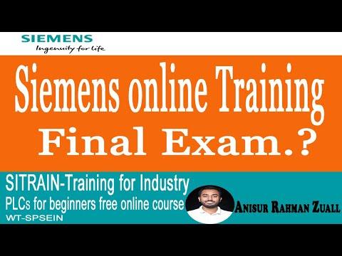 SIEMENS PLC Online Training Final Exam 2020 English Version ...