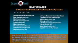 Import USA Boat - Import A Boat From USA to Australia & NZ & Asia