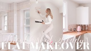 Flat makeover, episode TWO! Beautifying my London flat! ~ Breakfast at Freddy's