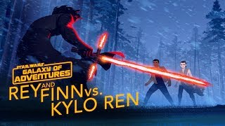 Episode 2.06 Rey and Finn vs. Kylo Ren (VO)