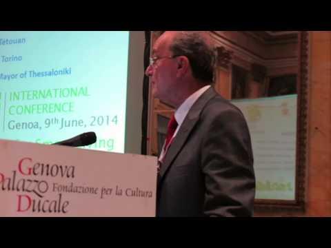 Conferencia Internacional del proyecto de Capitalización URBAN EMPATHY. Intervención Alcalde de Málaga. Génova, 9 junio 2014