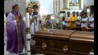 Funeral Rites for Fr. Baby Yabao