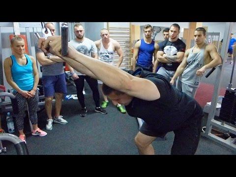Ćwiczenia wytrzymałościowe na mięśnie na zdjęciach