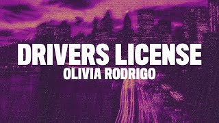 Olivia Rodrigo - drivers license (Lyrics)