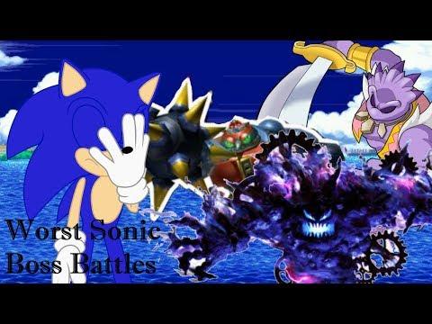 Taking on the Worst Sonic Boss Battles